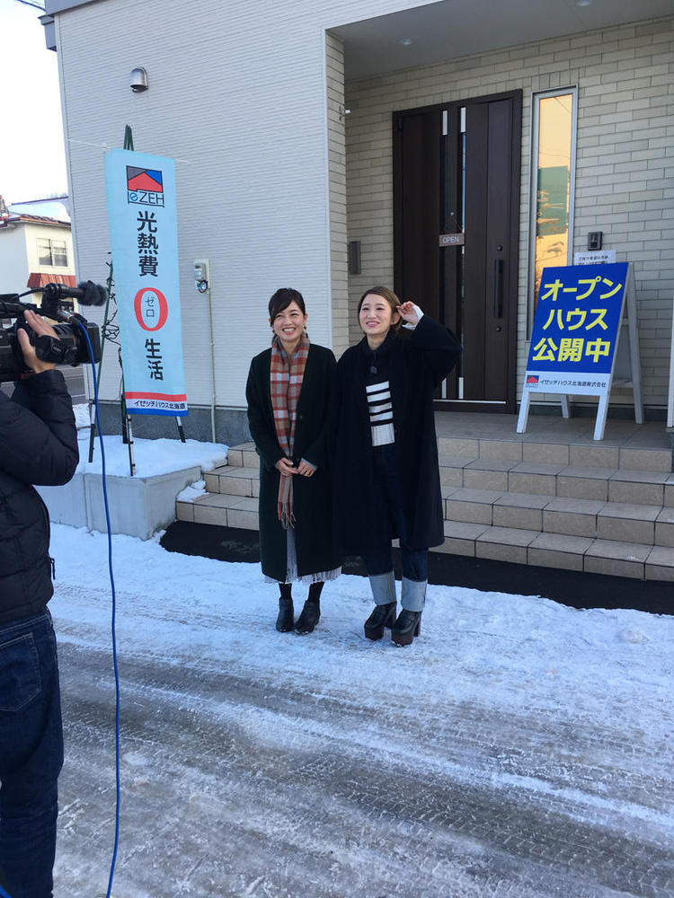 1月14日(月)STV「ジョシスタ」で北広島モデルハウスが紹介されます!