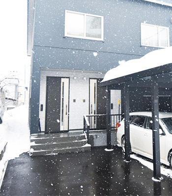 除雪の負担を軽減、家計にも優しい。省エネ「安心融雪システム」のご案内