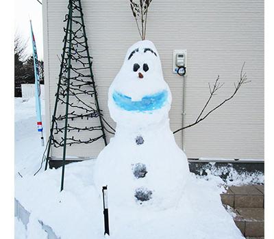 北広島モデルハウス「フルゼッチの家」で[オラフ]がお待ちしております!!
